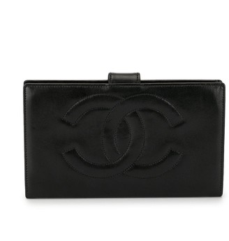 Chanel Pre-Owned CC bi-fold wallet