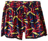 Ella Moss Kira Printed Woven Shorts (Big Kids)
