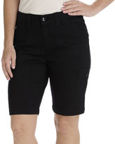 Lee Izzy Relaxed Fit Cargo Bermuda Shorts