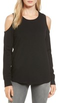 Gibson Women's Cold Shoulder Sweatshirt