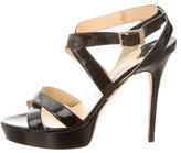 Jimmy Choo Vamp Platform Sandals
