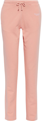 Acne Studios Elodie Embroidered French Cotton-terry Track Pants
