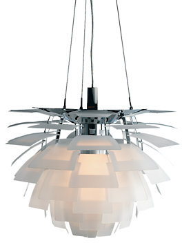 Design Within Reach Artichoke Lamp, Glass
