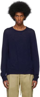 Jil Sanderand Navy Wool Sweater