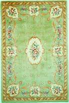 KAS Rugs RUB890233X53 Ruby Collection Fleur-De-Lis Aubusson Area Rug