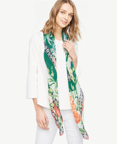 Ann Taylor Reed Garden Square Scarf