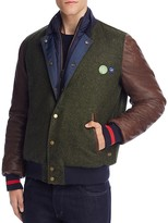 Scotch & Soda Mixed Media Bomber Jacket