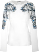 Melampo - Chrisanthemum blouse - women - Nylon/Polyester - 42