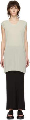 Rick Owens Grey Sleeveless T-Shirt