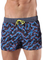 Diesel BMBX-Caybay Printed Swim Shorts