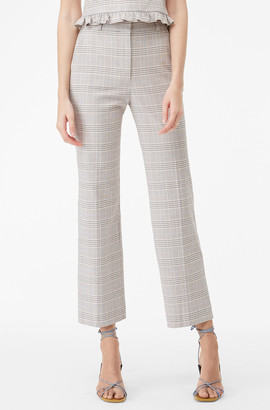 Rebecca Taylor Tailored Jane Plaid Pant
