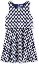 Epic Threads Crochet Chevron Popover Dress, Big Girls (7-16), Only at Macy's