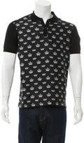 Dolce & Gabbana Crown Print Polo Shirt