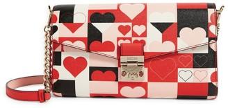 MCM Medium Leather Millie Valentine Cross-Body Bag