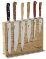 Laguiole En Aubrac 6-Piece Knife Set with Magnetic Block
