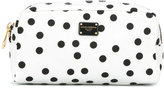 Dolce & Gabbana polka dot makeup bag - women - Nylon - One Size