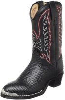 Durango Lil' Black Lizard Western Boot (Toddler/Little Kid/Big Kid)