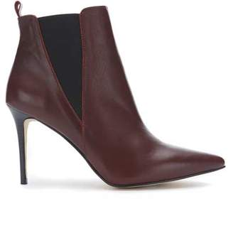 Mint Velvet Riley Burgundy Ankle Boot