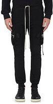 Rick Owens Men's Cotton Drawstring-Waist Cargo Pants