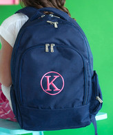 Designs By Two Greek Sisters Designs by Two Greek Sisters Backpacks - Navy Personalized Backpack