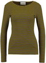 Just Female Long sleeved top black/yellow