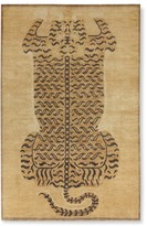 Williams-Sonoma Hand Knotted Tibetan Tiger Rug, Gold