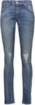 Rag & Bone Mid-rise distressed skinny jeans