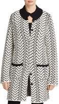 Foxcroft Nola Chevron Sweater Coat