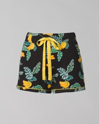 Soma Intimates Pajama Shorts with Grosgrain Trim