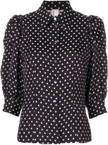 Antonio Marras polka dot print shirt