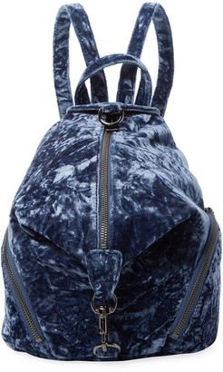 Rebecca Minkoff Julian Medium Velour Backpack