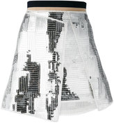 Aviu sequins embellished skirt