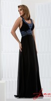 Jasz Couture - 5721 Dress in Black