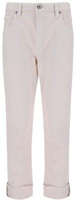 Brunello Cucinelli Straight-Lege Cropped Jeans