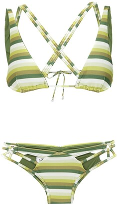 AMIR SLAMA Striped Bikini