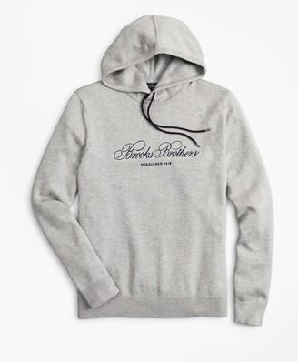 Brooks Brothers Supima Cotton Logo Hoodie