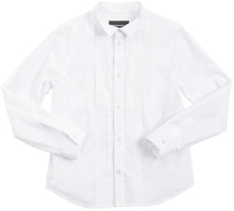 Emporio Armani Cotton Poplin Shirt