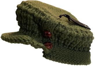 Nobis Green Wool Hats