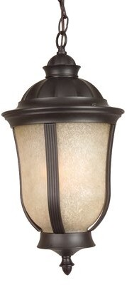 Oakhill 1-Light Outdoor Hanging Lantern Charlton Home Bulb Type: Candelabra