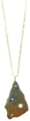 Cvc Stones Harvest Diamond & 18kt Gold Stone Necklace - Womens - Gold