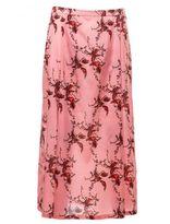 Laura Urbinati Bird Print Skirt