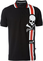 Philipp Plein print polo shirt