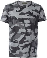 Valentino camouflage T-shirt - men - Cotton - M