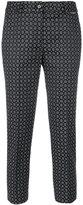 Twin-Set jacquard trousers - women - Cotton/Polyester/Spandex/Elastane/Viscose - 38