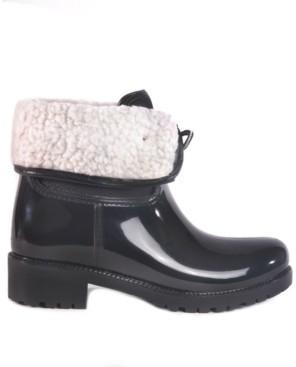 dav Calgary Waterproof Women's Mid Height Rain Boot Women's Shoes