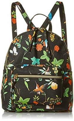 T-Shirt & Jeans Back Pack with Bright Floral Print
