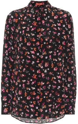 Altuzarra Chika floral silk-crepe blouse