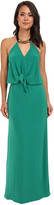 T-Bags LosAngeles Tbags Los Angeles Convertible Maxi Dress w/ Black/Gold Neck Piece