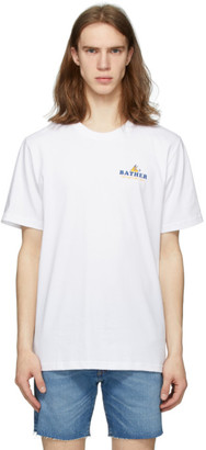 Bather White Out Of Office T-Shirt