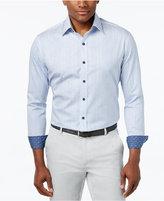 Tasso Elba Men's Geo-Print Long-Sleeve Shirt, Only at Macy's